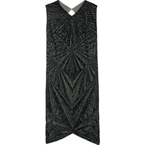Jasmine di Milo Graphic Sequin Pattern Dress