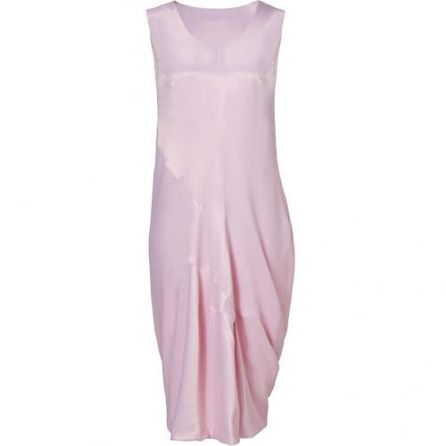 Jil Sander Rose Silk-Blend Dress