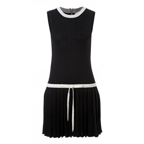 Juicy Couture Kleid Schwarz-Weiß