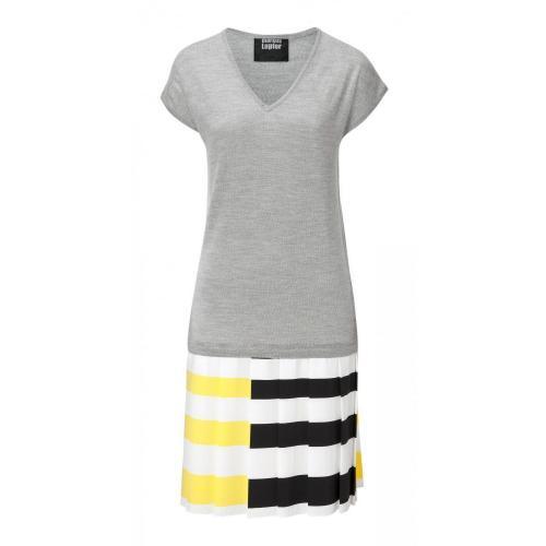 Kleid von Markus Lupfer Grau