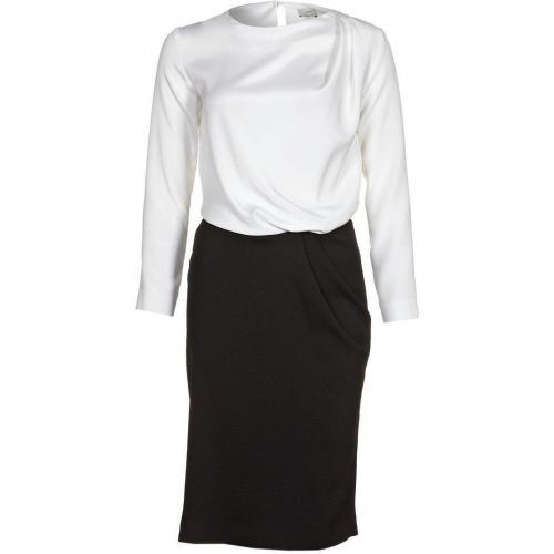 Liebig Luca Blusenkleid schwarz weiß
