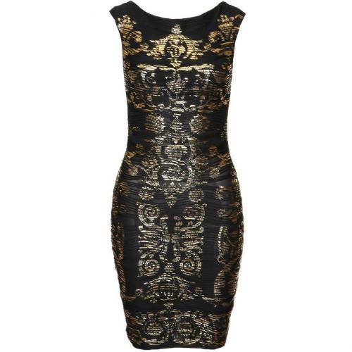 Lipsy Baroque Cocktailkleid / festliches Kleid black/gold
