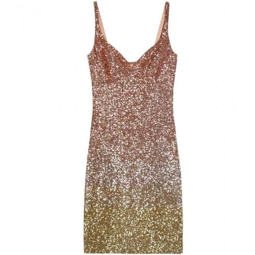 L'wren Scott Sequin-Embellished Cocktail Dress