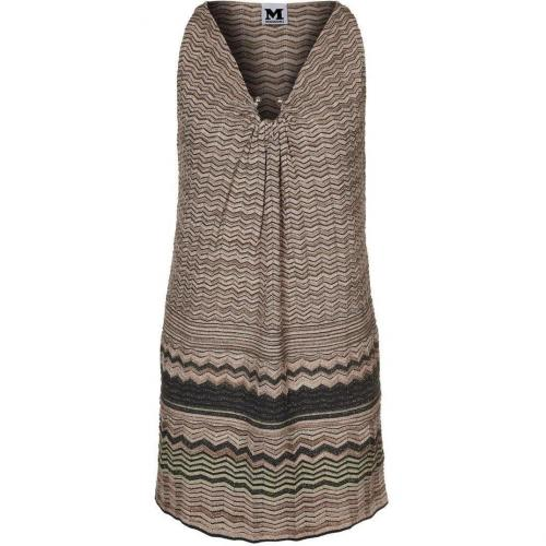 M Missoni Strickkleid rosé gold