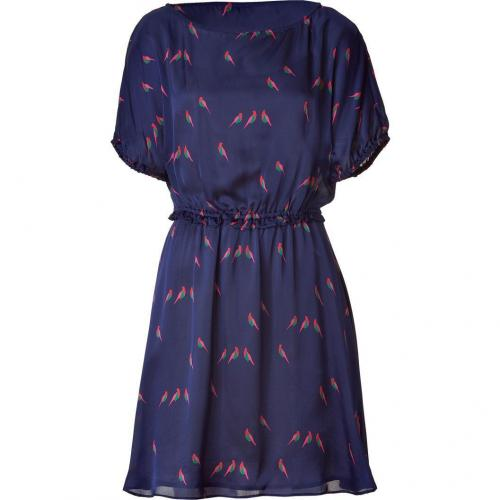 Marc by Marc Jacobs Blue Multicolor Finch Charm Dress