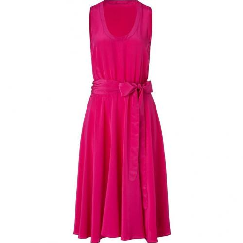 Marc by Marc Jacobs Cranberry Field Belted Silk Dress