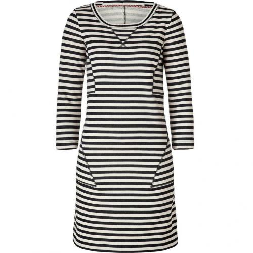 Marc by Marc Jacobs General Navy/Natural Striped Terry Ben Dress