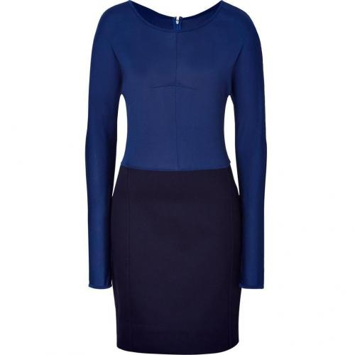 Marc by Marc Jacobs Indigo/Black Claude Twill Knit Dress