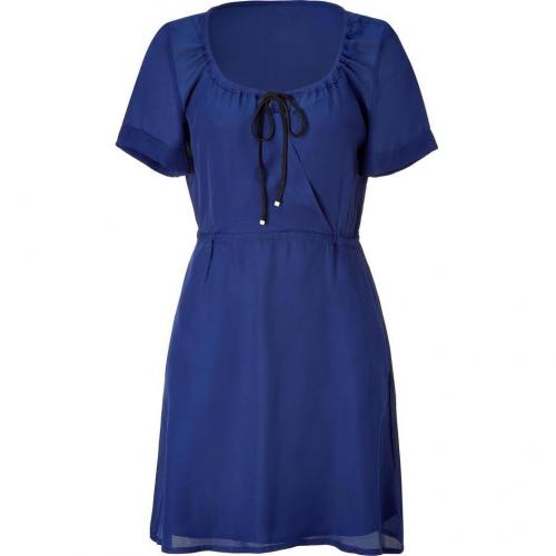 Marc by Marc Jacobs Twilight Blue Silk Dress