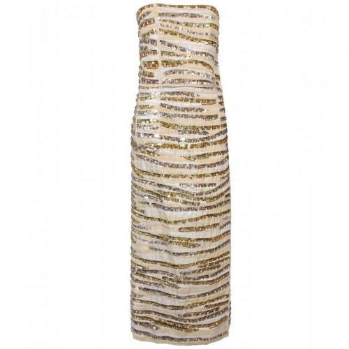 Marc Jacobs Besticktes Abendkleid Mit Passenden Hot-Pants