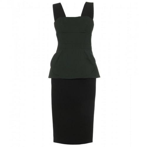 Marc Jacobs Peplum Kleid Mit Corsage