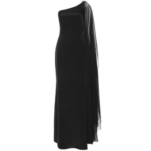 Marchesa Notte One-Shoulder-Kleid Aus Seide