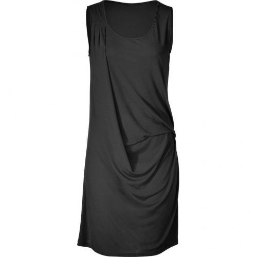 Michael Kors Black Drape Dress