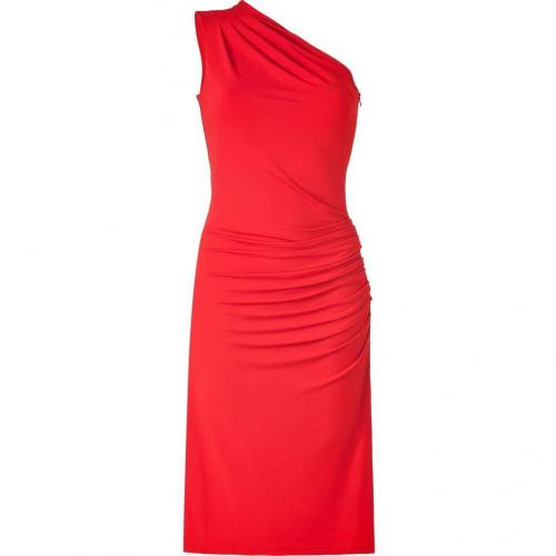 Michael Kors Crimson One Shoulder Dress