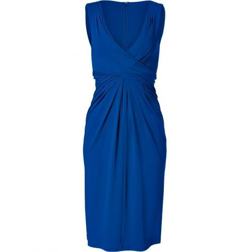Michael Kors Sapphire Twisted Front Dress
