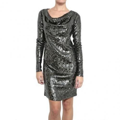 Michael Michael Kors Cowl Ausschnitt Pailletten Kleid