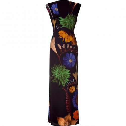 Missoni Black Floral Sequin Dress