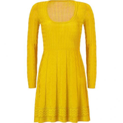 Missoni M Sunshine Wool-Blend Scoop Neck Knit Dress