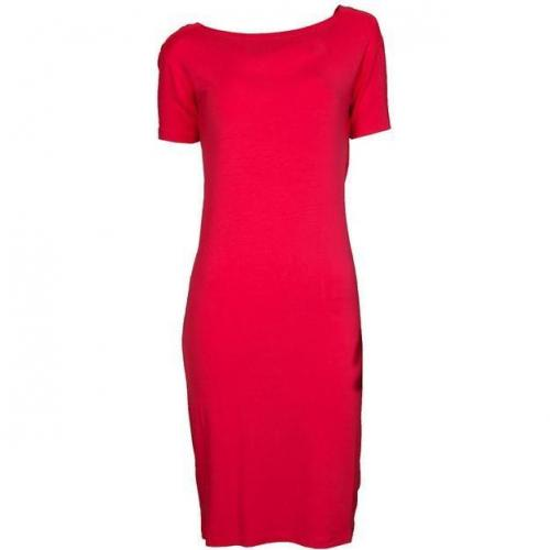 Mm6 Jersey-Kleid mit Rückenausschnitt pink