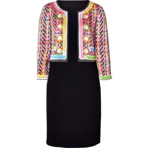 Moschino C&C Black/Multicolor Printed Dress