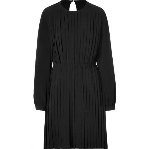 Mulberry The Annie Black Pleated Dress