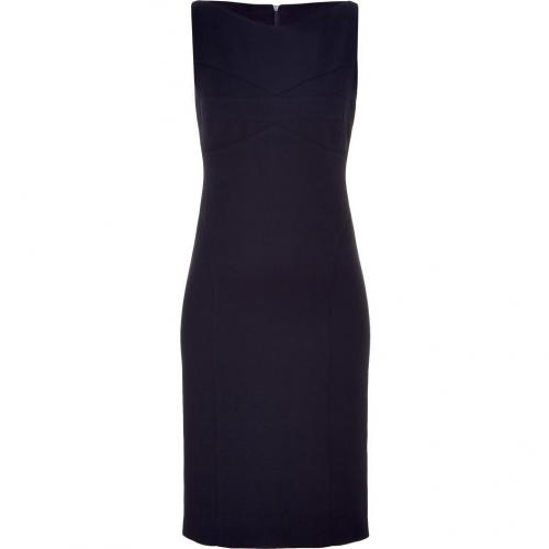 Narciso Rodriguez Navy Sleeveless Sheath Dress