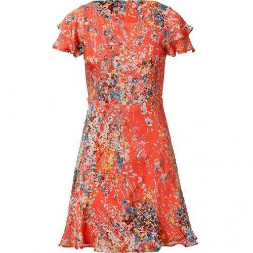 Paul & Joe Tangarine Multicolor Floral Print Dress