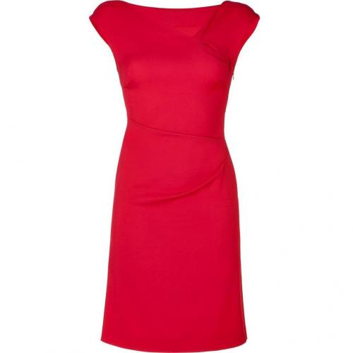 Philosophy di Alberta Ferretti Red Cap Sleeve Dress
