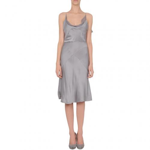 Prada Knielanges Kleid Grau