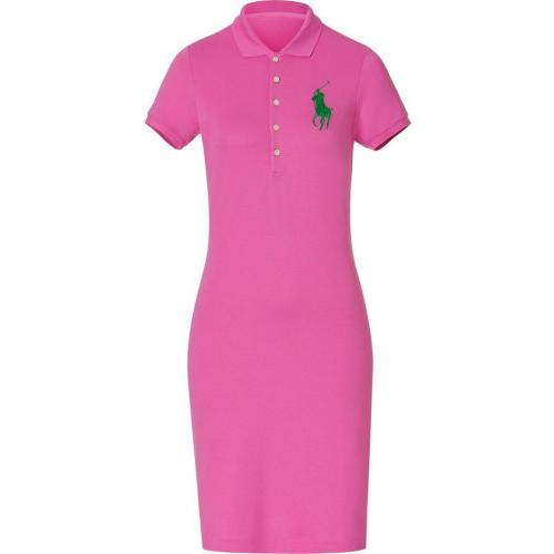 Ralph Lauren Hammond Pink Stretch Mesh English Dress