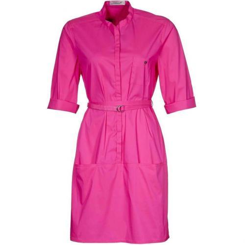René Lezard Sommerkleid pink