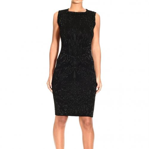 Roberto Cavalli Sleeveless brocade lurex dress