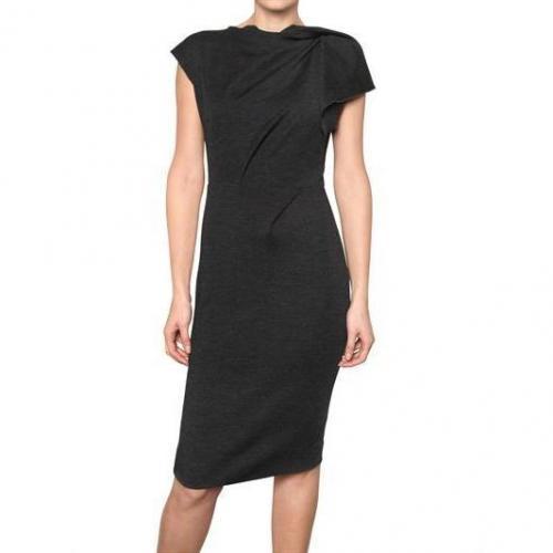 Roksanda Ilincic Drapiertes Woll Jersey Kleid