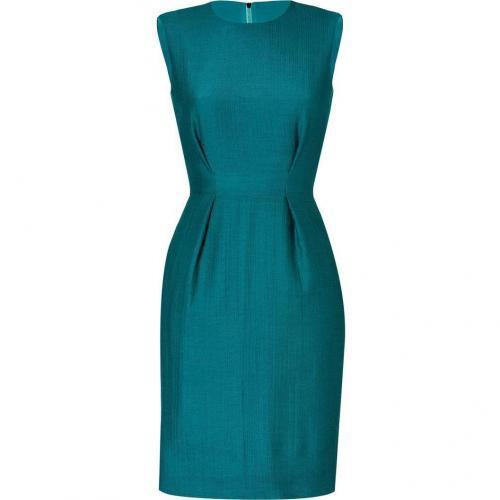 Roksanda Ilincic Petrol Wool-Crepe Dress