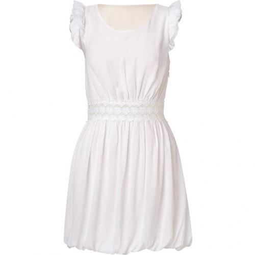 Sandro Resonance Ivory Sleeveless Dress