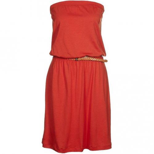 Sessun Flake Dot Kleid mandarin
