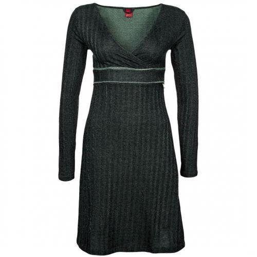 Skunkfunk Aitzuriaga Jerseykleid black/green