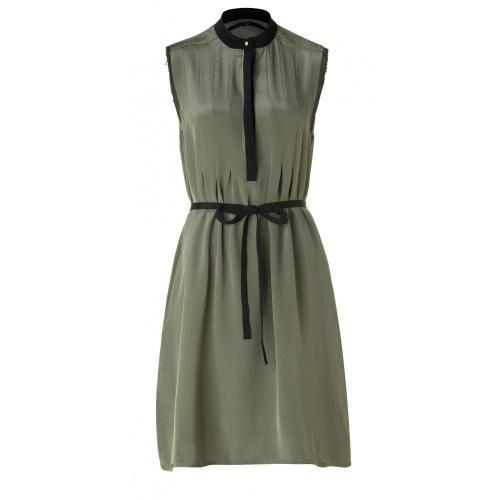 Sly 010 Seiden Kleid Olive
