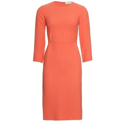 Amazon Crêpe-Kleid Orange