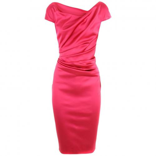 Talbot Runhof Fuchsia Dress Romania Pink