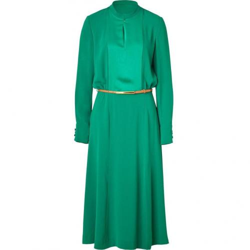Tara Jarmon Mint Belted Slit Detail Dress