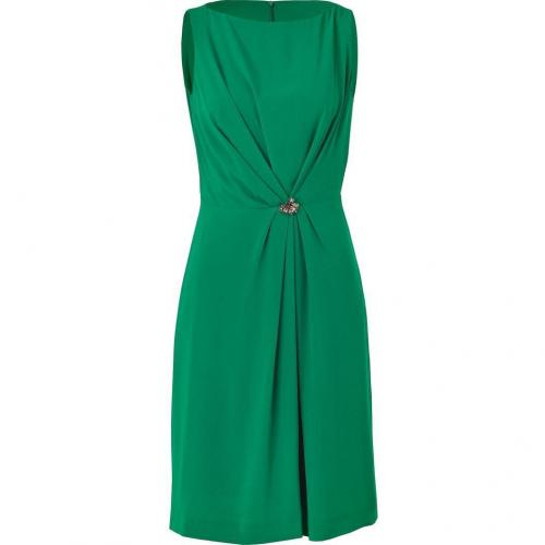 Tara Jarmon Mint Green Dress with Brooch
