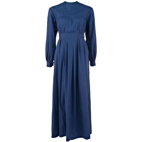 Thierry Colson Juliet Long Kleid Blau