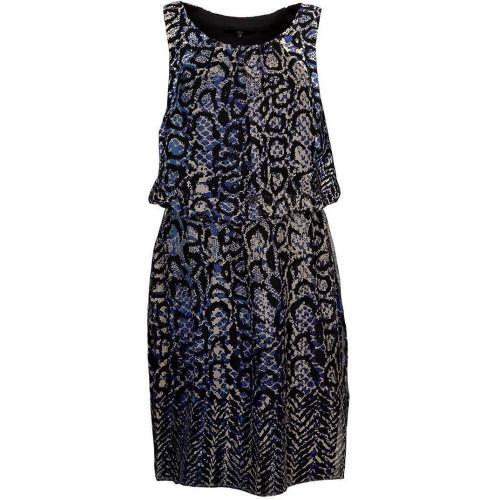 Tibi Sommerkleid blue multi