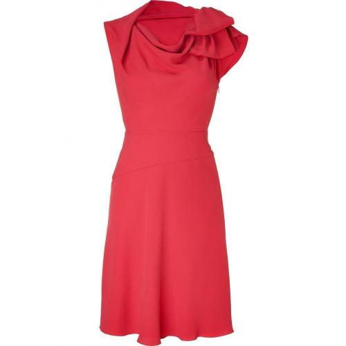 Valentino Coral Sleeveless Dress