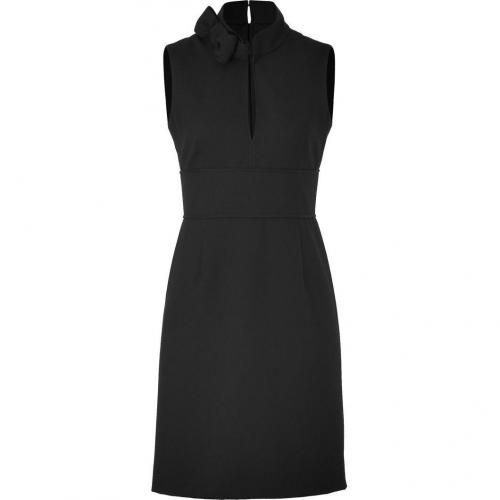 Valentino R.E.D. Black Bow Collar Dress