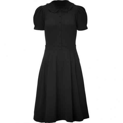 Valentino R.E.D. Black Lace Collar Dress