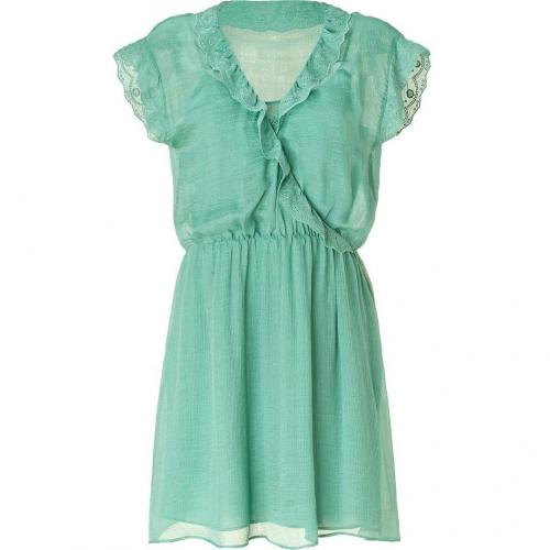 Vanessa Bruno Athé Jade Romantic Silk Dress