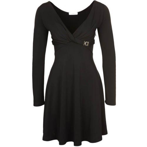 Versace Collection Jerseykleid schwarz mit Ärmeln