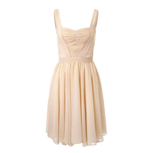 Z Spoke by Zac Posen Kleid Beige